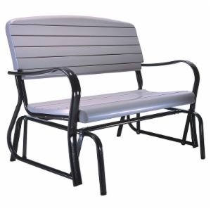 Lifetime Products Outdoor Glider Loveseat - Putty