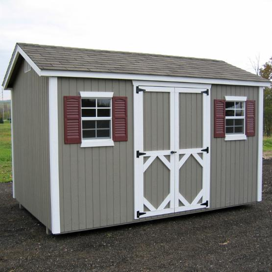 Little Cottage 12 x 10 ft. Classic Wood Workshop Panelized Garden Shed