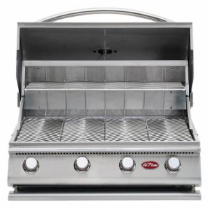 Cal Flame Gourmet Series 4-Burner G4 Built-In Gas Barbeque Grill with Optional Burner