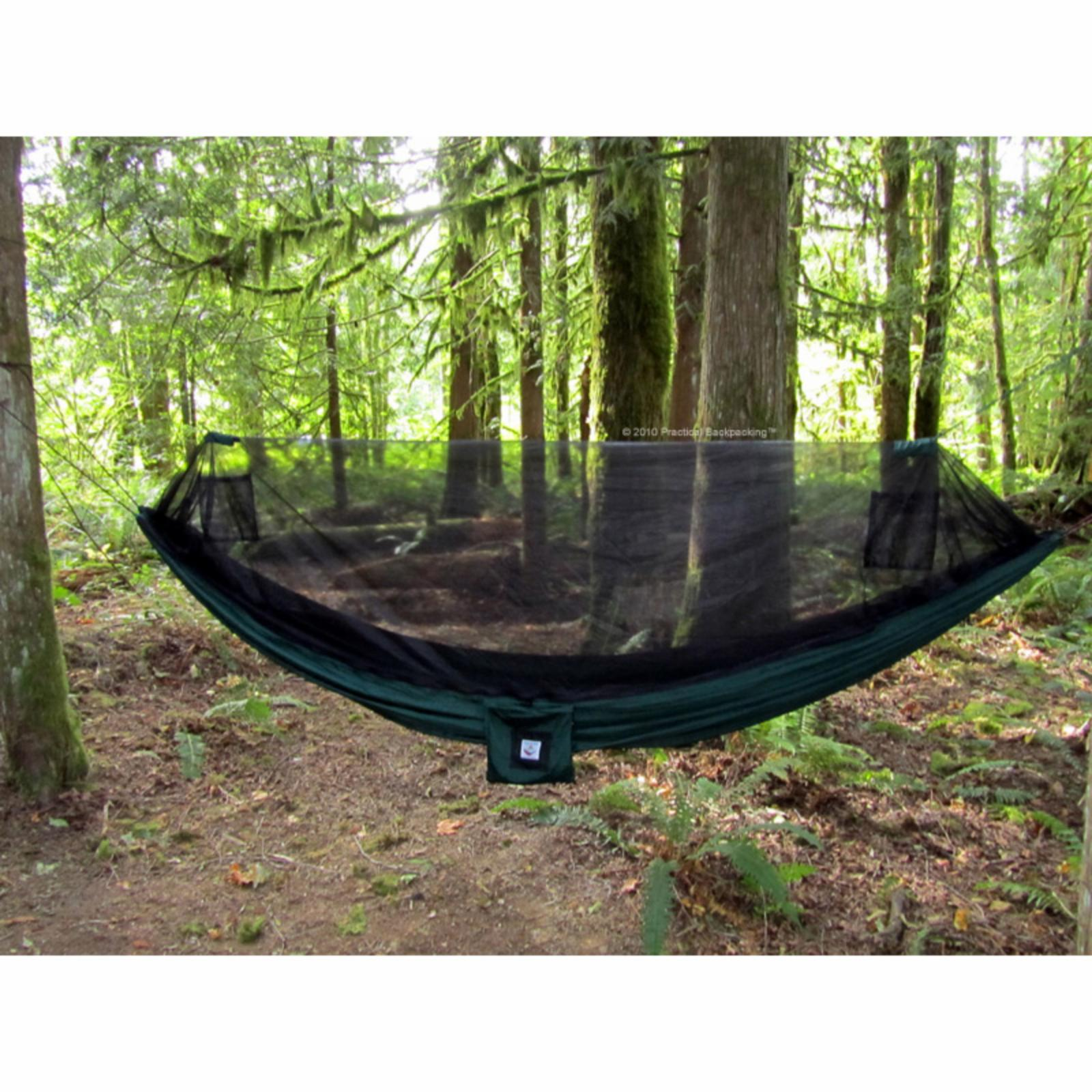 Outdoor Hammock Bliss No-See-Um Mosquito Portable Single Hammock