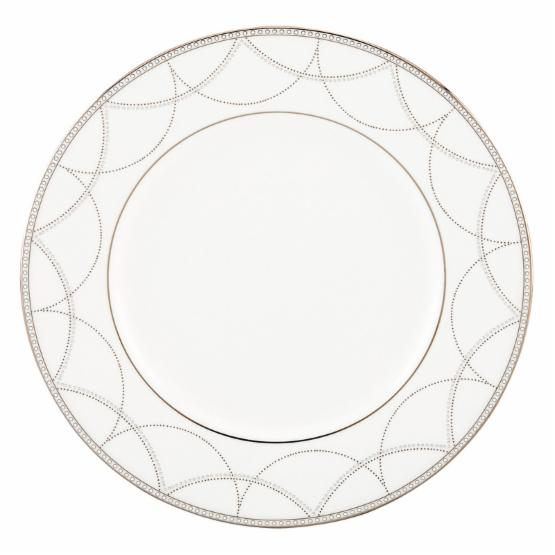 Lenox Iced Pirouette Accent Plate - 9 in.