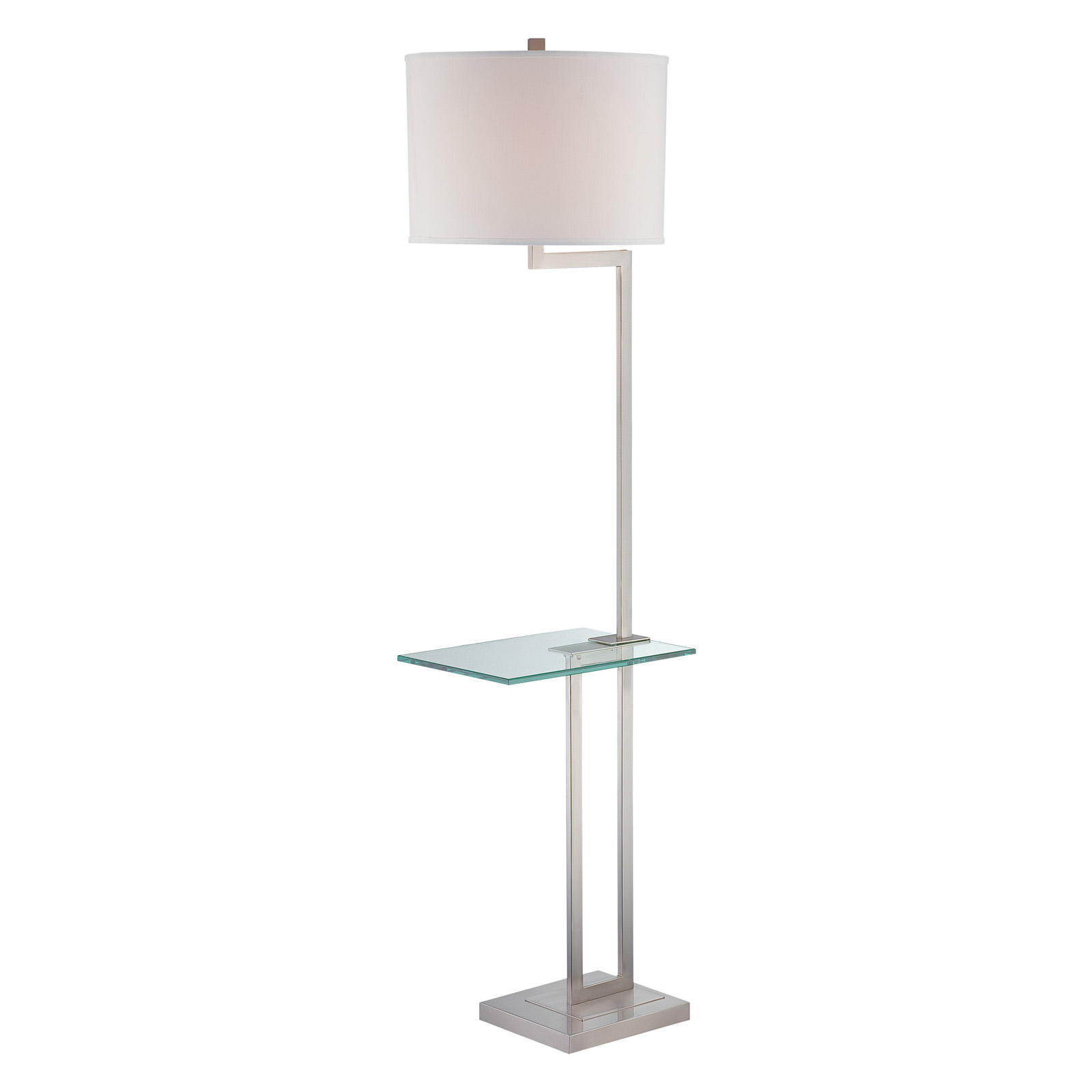 Lite Source Rudko Floor Lamp With Tray