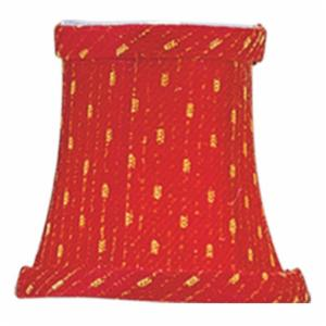 Livex S240 Bell Clip Chandelier Shade in Red/Gold