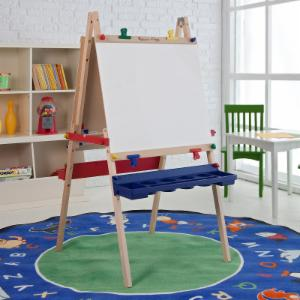 Melissa and Doug Childrens Deluxe Standing Easel