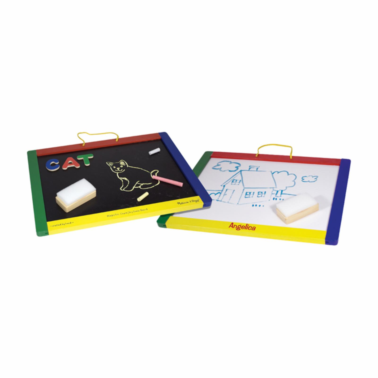 Melissa and Doug Personalized Magnetic Chalkboard/Dry-Era...