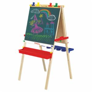 Melissa and Doug Personalized Deluxe Wooden Standing Art Easel