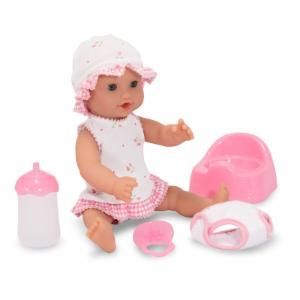 Melissa and Doug Mine to Love Annie Drink and Wet 12 in. Doll