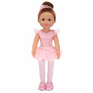 Melissa and Doug Mine to Love Victoria Ballerina 14 in. Doll
