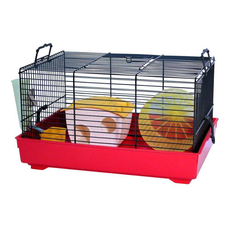 Lux Plastic Hamster Cage - 2019000100099
