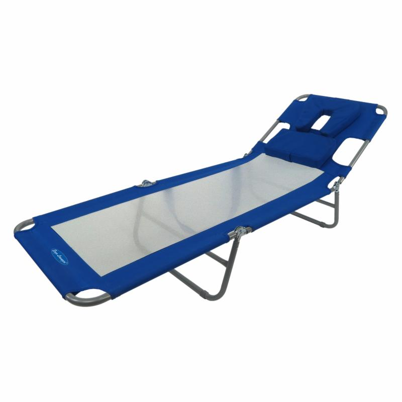 Outdoor Ergo Lounger Cool Face Down Beach Chaise - 14276