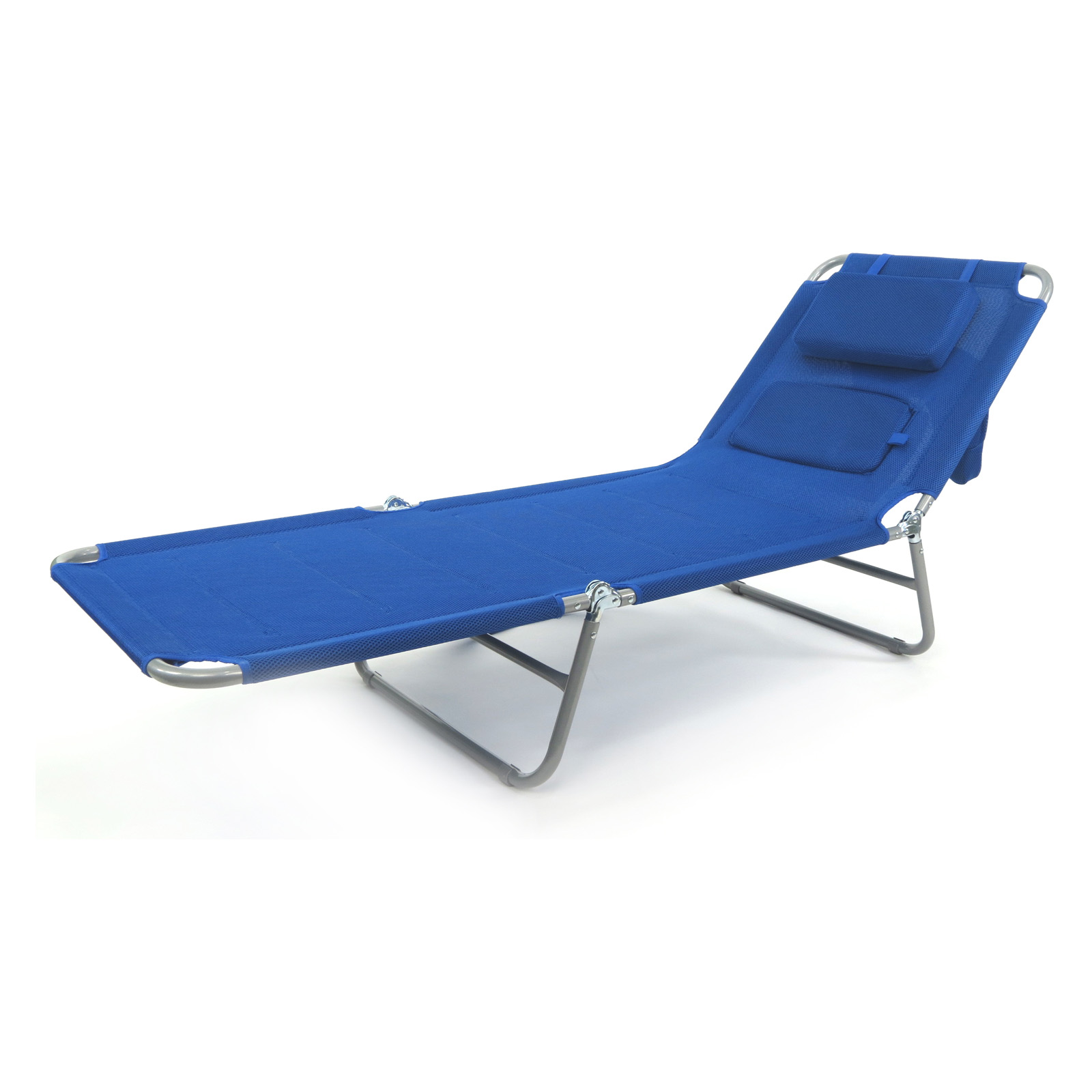 Beach chaise goplus folding chaise lounge chair bed for Beach chaise lounge