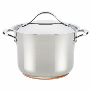 Anolon Nouvelle 6.5 qt. Stainless Steel Covered Stockpot