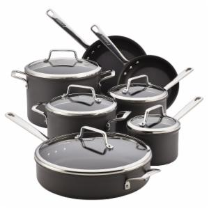 Anolon Authority 12 Piece Hard-Anodized Nonstick Cookware Set
