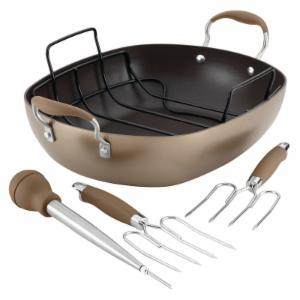 Anolon Advanced Hard Anodized Nonstick Roaster Set