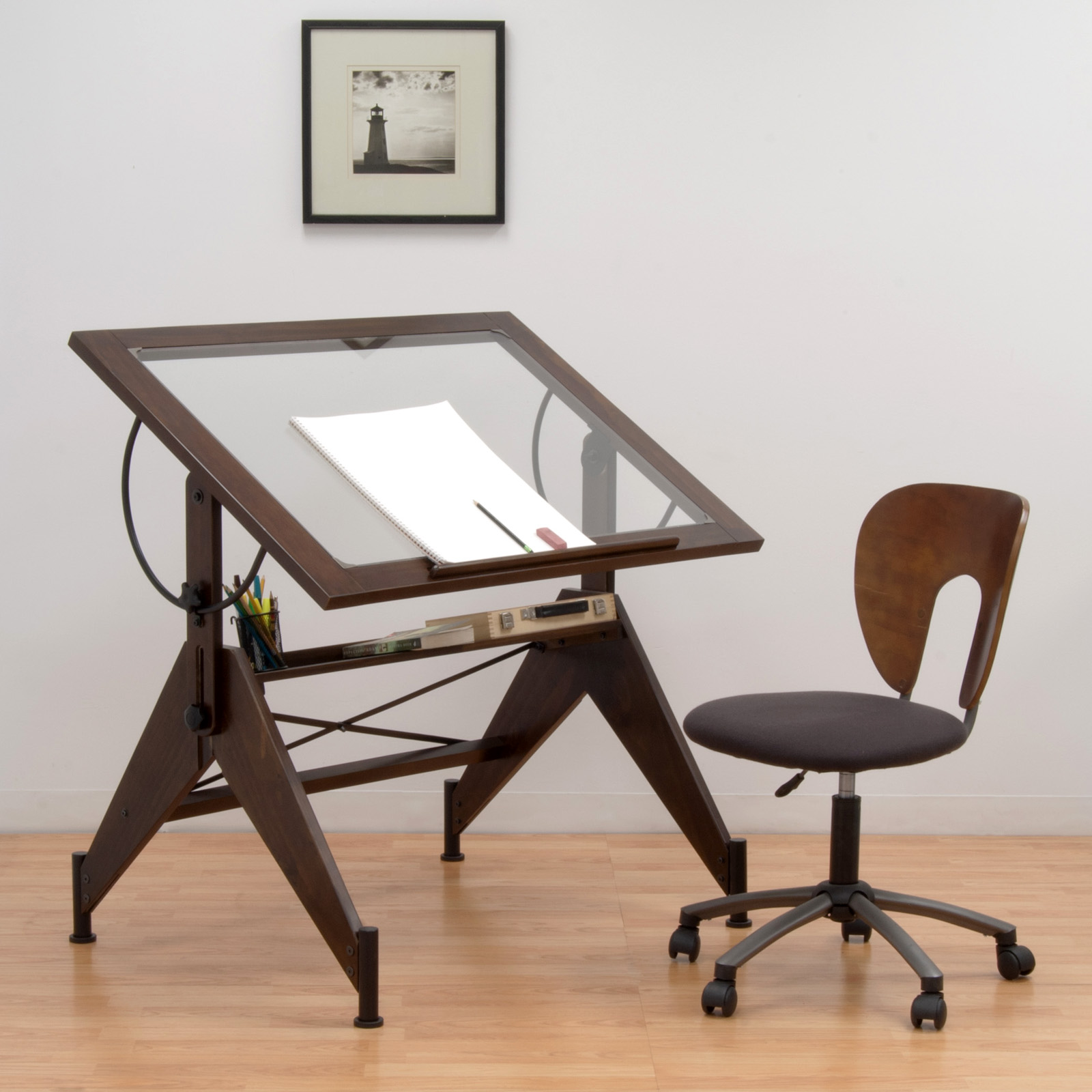 Studio Design Drafting Table studio designs futura glass top drawingdrafting table shipping included Studio Designs Avanta Drafting Table Drafting Drawing Tables At Hayneedle