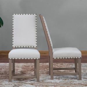 Belham Living Asher Nailhead Parsons Dining Chair - Set of 2