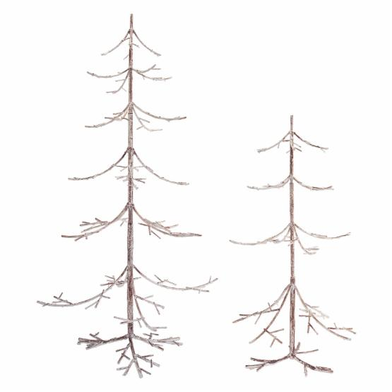 Melrose Weathered Branch Tabletop Christmas Tree Set