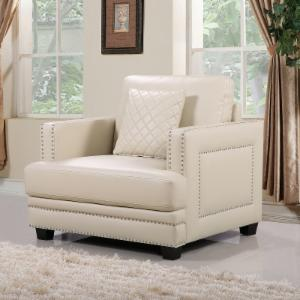 Meridian Furniture Inc Ferrara Nailhead Club Chair