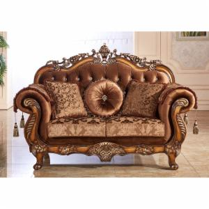 Meridian Furniture Inc Napoli Loveseat with Accent Pillows