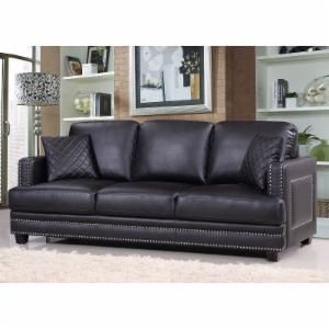 Meridian Furniture Inc Ferrara Nailhead Sofa