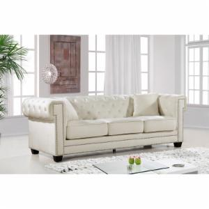 Meridian Furniture Inc Bowery Velvet Sofa