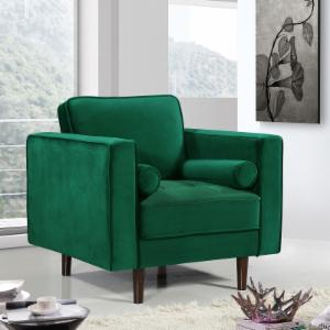 Meridian Furniture Inc Emily Velvet Chair