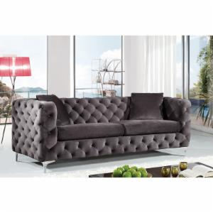 Meridian Furniture Inc Scarlett Velvet Sofa