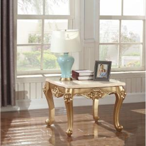 Meridian Furniture Inc Bennito Gold End Table