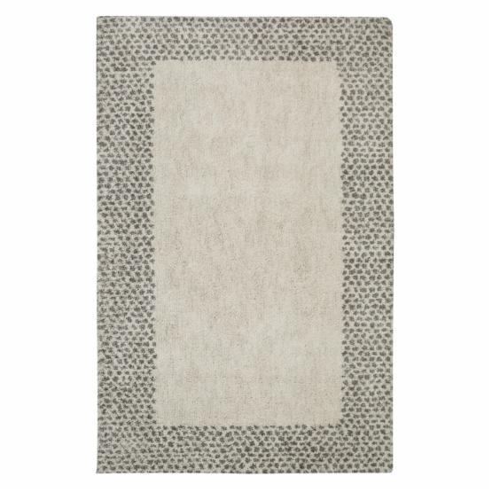 Mohawk Home Laguna Spotted Border Woven Indoor Area Rug