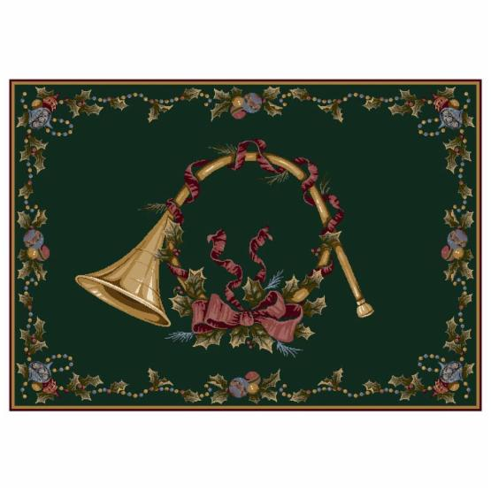 Holiday Collection - French Horn Rug