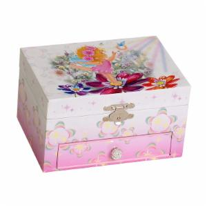 Mele & Co. Ashley Musical Dancing Ballerina Jewelry Box - 7.8W x 3.3H in.