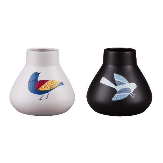 Moes Home Collection Little Birds Table Vase - Set of 2