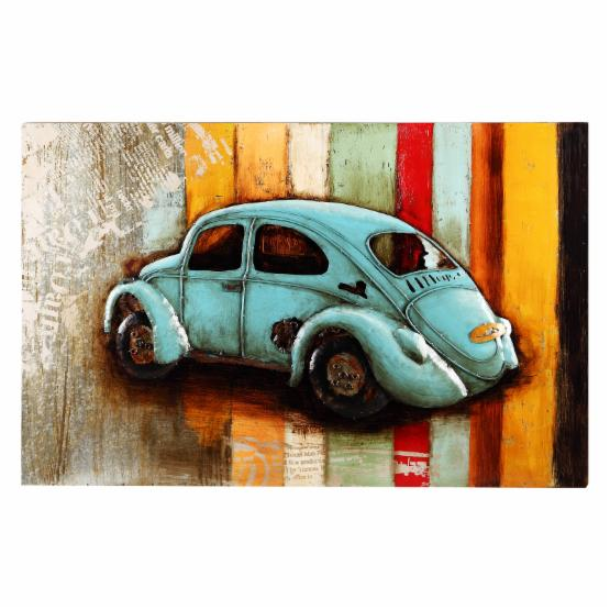 Moes Home Collection Vintage Beetle Wall Art