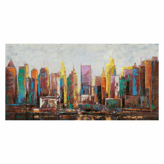 Moes Home Collection Cosmopolitan Wall Art