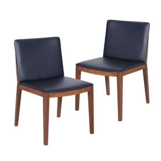 Moes Home Collection Monico Dining Chair - Black - Set of 2