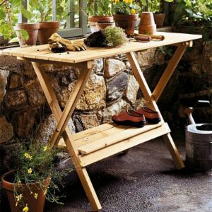 Atlantic Outdoor Simple Coffee Table Potting Bench