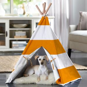 Merry Products Striped Pet Teepee