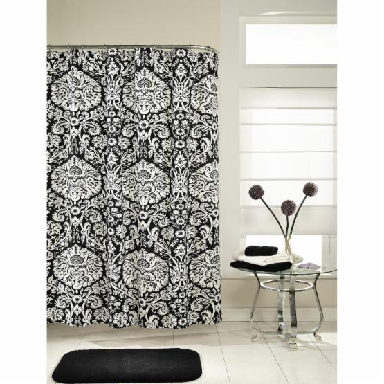 M Style Damask Shower Curtain