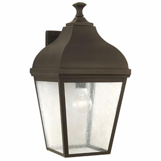 Feiss Terrace Outdoor Wall Lantern - 18.5H in. Oil Rubbed Bronze