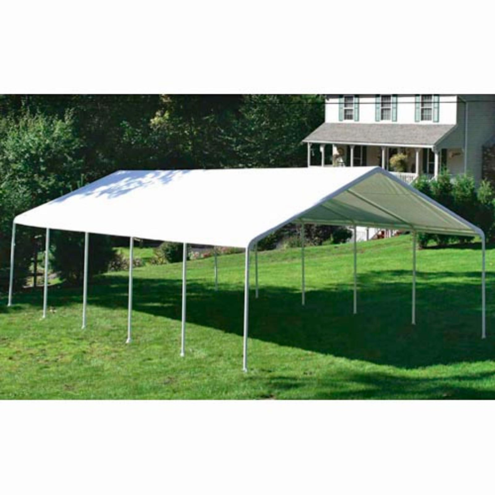 ShelterLogic 18 x 30 ft. Commercial Grade Canopy - 26767