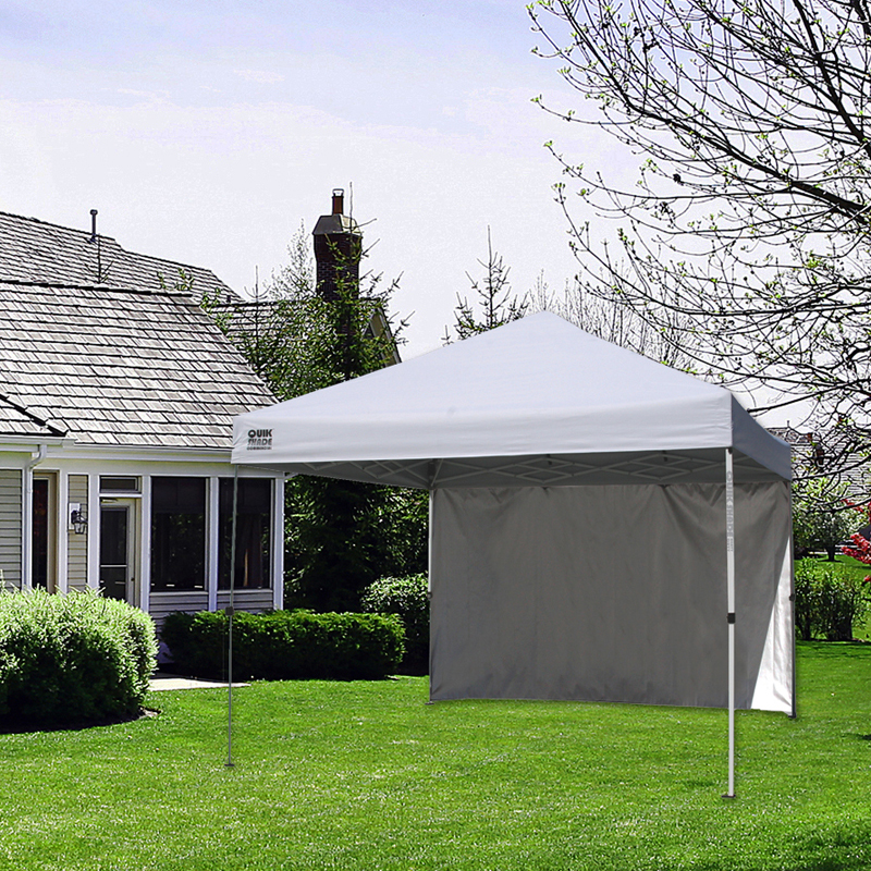 Image is loading Quik-Shade-Commercial-C100-10-x-10-ft- & Quik Shade Commercial C100 10 x 10 ft. Instant Canopy with Wall ...