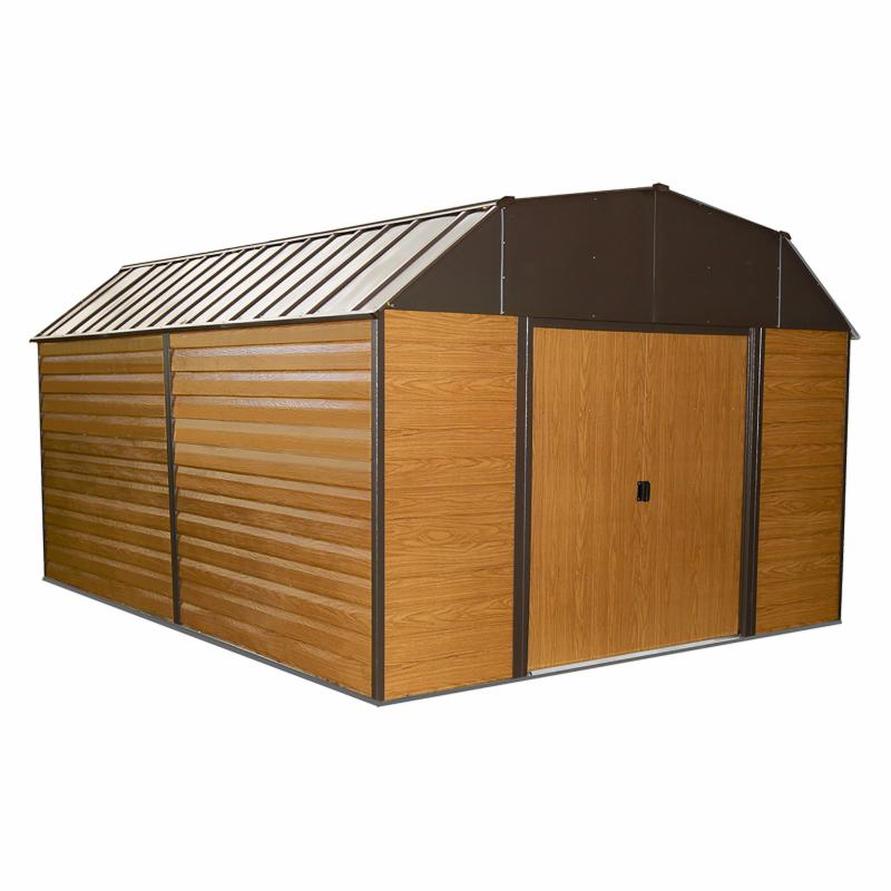 Arrow 10 x 14 ft. Woodhaven Storage Shed - WH1014-D1