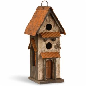 National Tree Company 12.6 in. Decorative Bird House