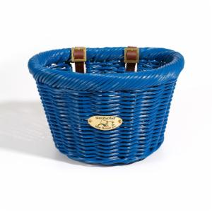 Nantucket Bike Basket Co. Cruiser Adult D-Shape Basket - Ocean
