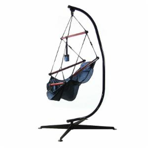 Sunnydaze Decor Sunnydaze Hanging Hammock Chair with Pillow and Stand