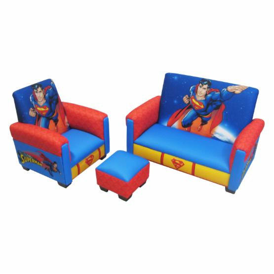 Warner Brothers Superman Deluxe Toddler Living Room Set Do Not Use