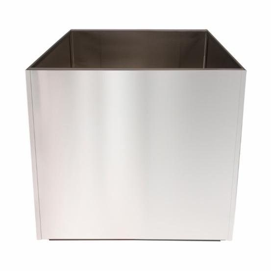 Nice Planter Stainless Steel Cube