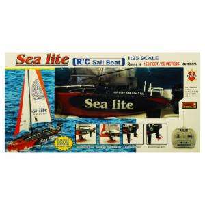 Golden Bright Sea Lite Radio Controlled Sail Boat - Red