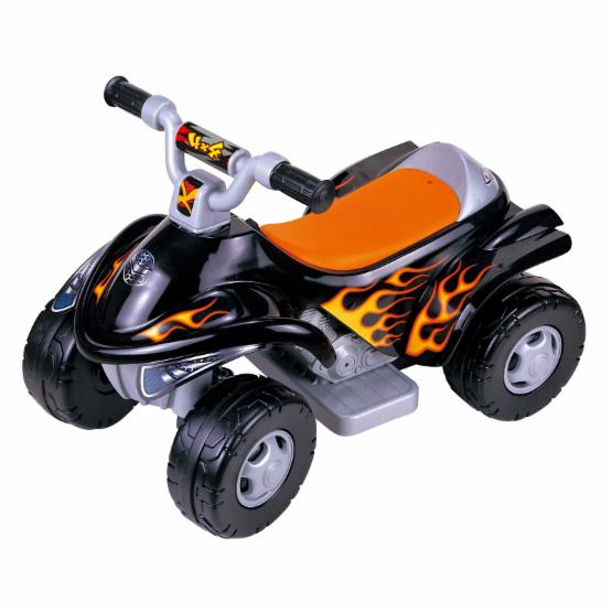 New Star Ride-On ATV Battery Powered Riding Toy - Black