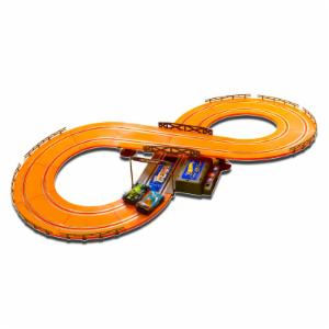 Kidz Tech Hot Wheels 9.3 ft. Battery Operated Slot Track Set
